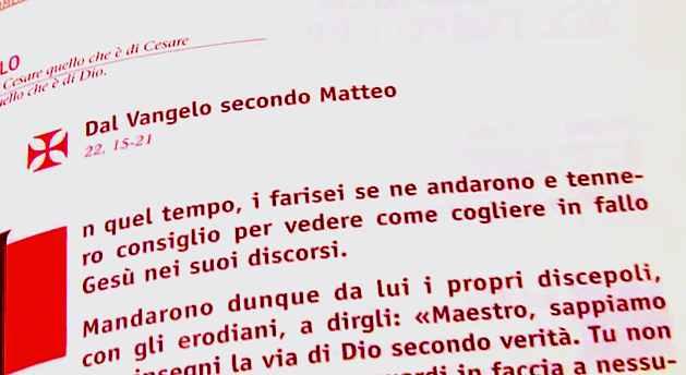 Vangelo di domenica 16 ottobre 2011 – XXIX del Tempo Ordinario
