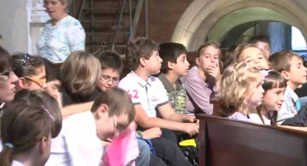 Messa con gli studenti – 5 ottobre 2011