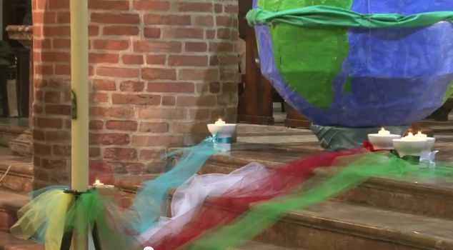 Immagini della Veglia Missionaria 2011 a Castel San Giovanni