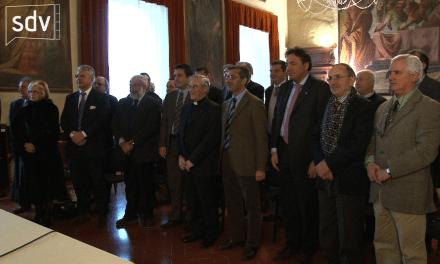 Auguri del vescovo: incontro con gli amministratori