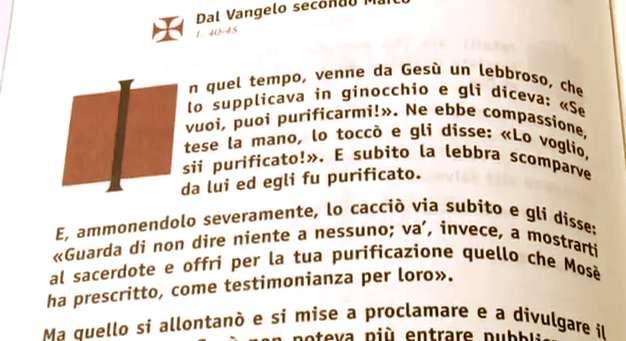 Vangelo di domenica 12 febbraio 2012 – VI del Tempo Ordinario