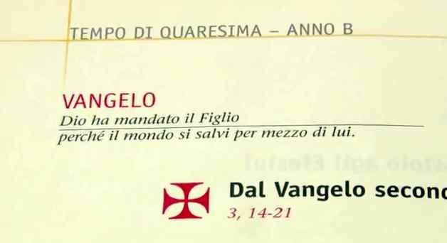 Vangelo di domenica 18 marzo 2012 – IV di Quaresima