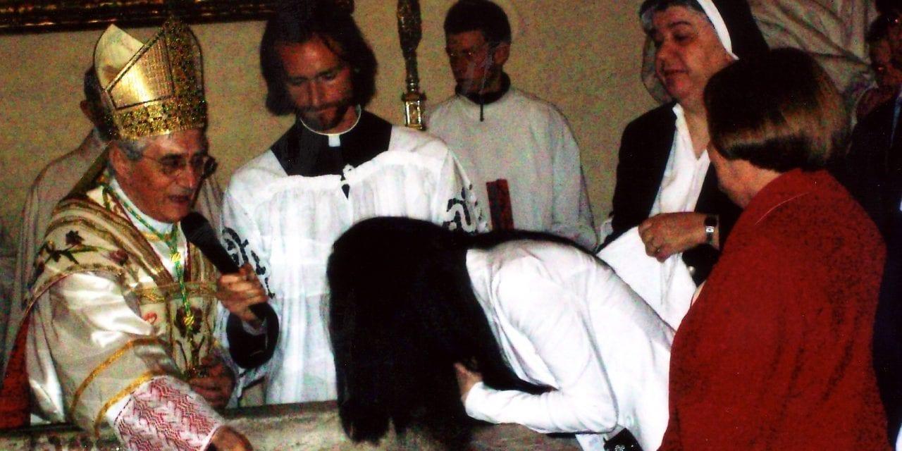Veglia Pasquale: il battesimo di 7 catecumeni