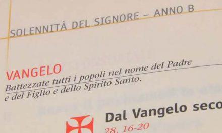 Vangelo di domenica 3 giugno 2012 – Santissima Trinità