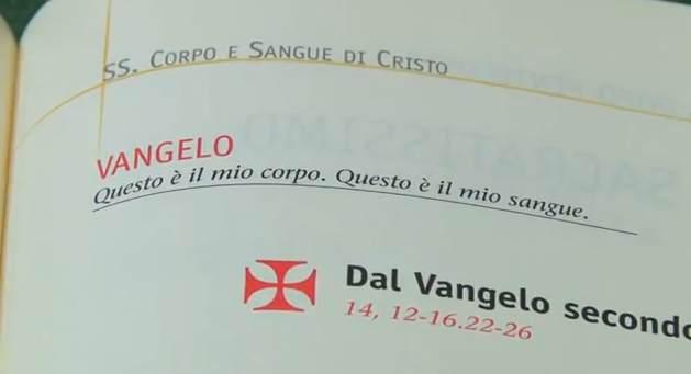 Vangelo di domenica 10 giugno 2012 – Corpus Domini