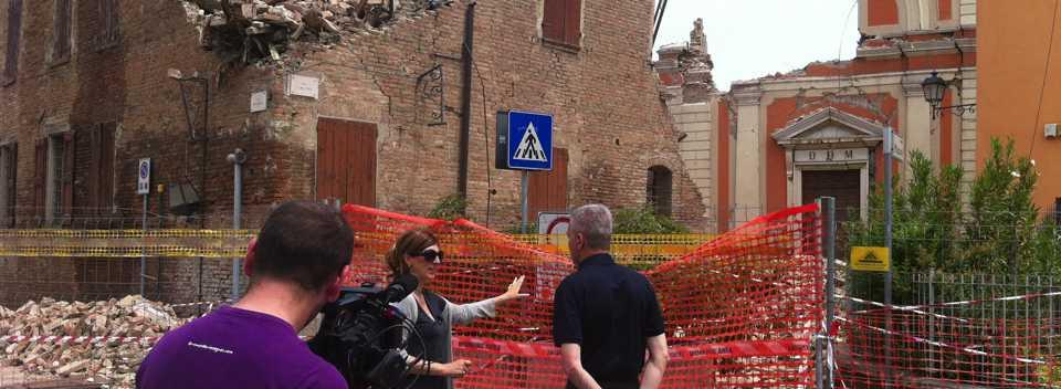 """Speciale di """"Le Strade della Vita"""" dedicato alla Diocesi di Modena colpita dal terremoto"""