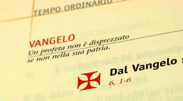 Vangelo di domenica 8 luglio 2012 – XIV del tempo Ordinario