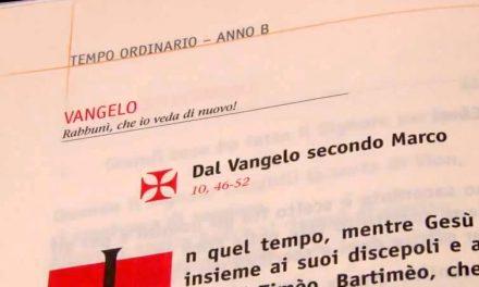 Vangelo di domenica 28 ottobre 2012 – XXX del Tempo Ordinario