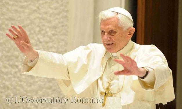 Anno della fede con Benedetto XVI
