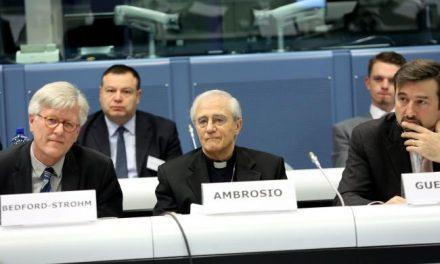Dialogo tra Chiese e Commissione Europea: intervento di mons. Gianni Ambrosio a Bruxelles