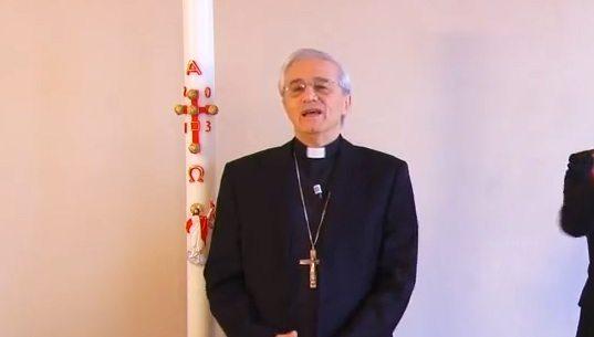 Gli auguri del Vescovo per la Pasqua 2013