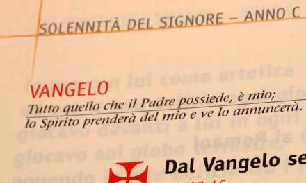 Vangelo di domenica 26 maggio 2013 – Santissima Trinità