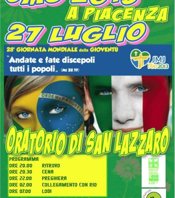 Vivi la GMG di Rio a Piacenza