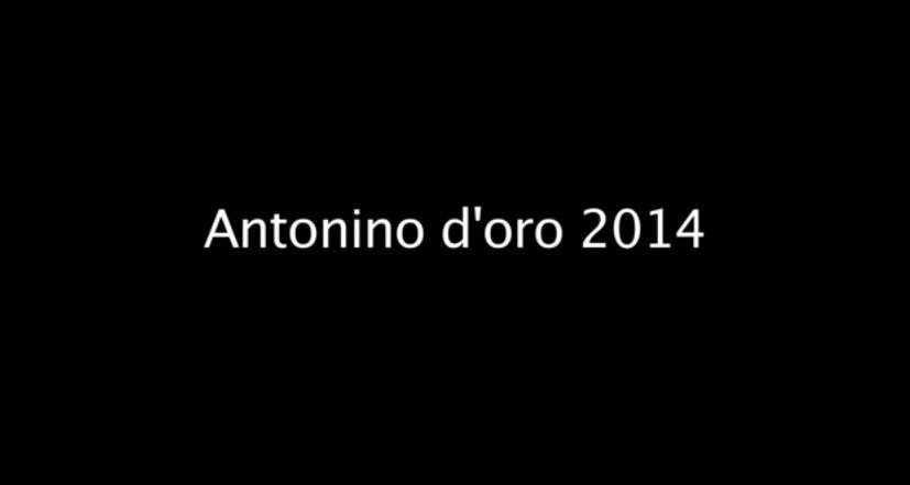 consegna Antonio d'oro 2014