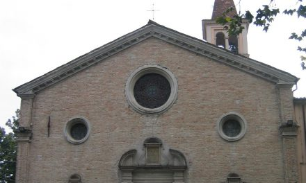 Illusionismo prospettico nella chiesa di San Pietro in Cerro