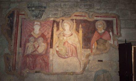 Il restauro degli antichi affreschi della Chiesa di Vigoleno