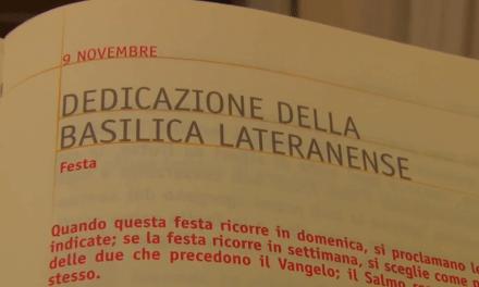 Vangelo di domenica 9 novembre 2014 – Dedicazione della Basilica lateranense