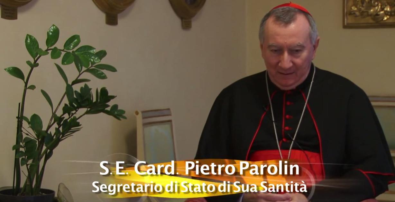 Dialogo con Cardinale Pietro Parolin.