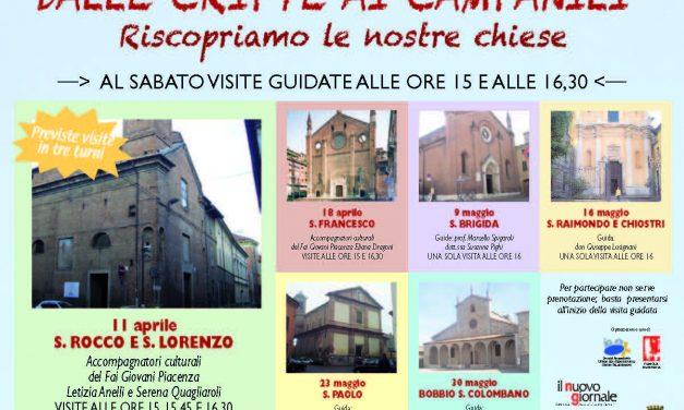 """""""Dalle cripte ai campanili"""": visite guidate alle chiese di Piacenza"""