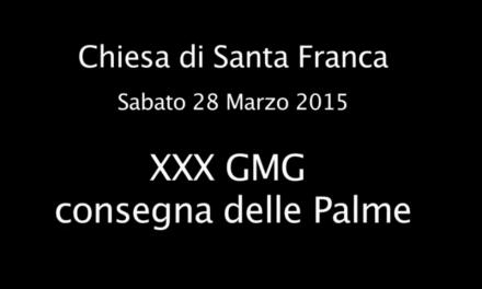 XXX GMG e consegna delle Palme