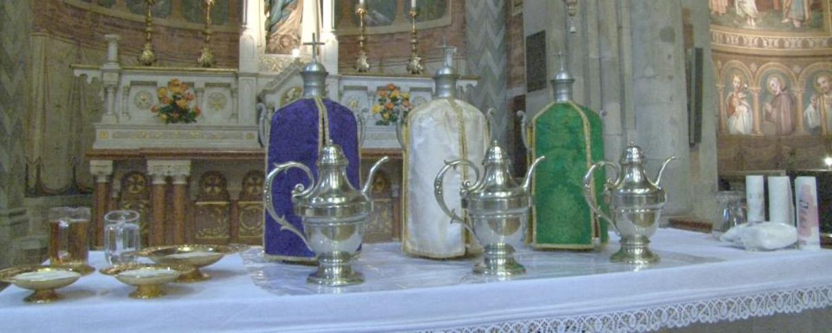 Triduo Pasquale: le celebrazioni con il Vescovo