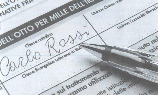 8 per mille: la tua firma per la chiesa cattolica