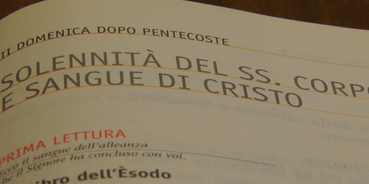 Vangelo di Domenica 7 giugno 2014 – Solennità del SS. Corpo e Sangue di Cristo