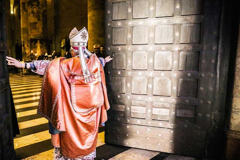 Apertura Porta Santa in Diocesi