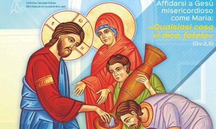 Affidarsi a Gesù misericordioso come Maria: «Qualsiasi cosa vi dica, fatela»