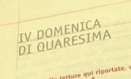 Vangelo di Domenica 11 marzo 2018 – IV del Tempo di Quaresima – con mons. Giuseppe Busani