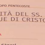 Vangelo di domenica 23 giugno 2019 – Corpus Domini
