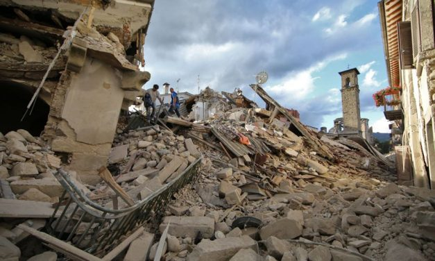 SISMA CENTRO ITALIA: DOMENICA 18 SETTEMBRE COLLETTA NAZIONALE IN TUTTE LE CHIESE