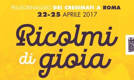 Pellegrinaggio dei cresimati a Roma