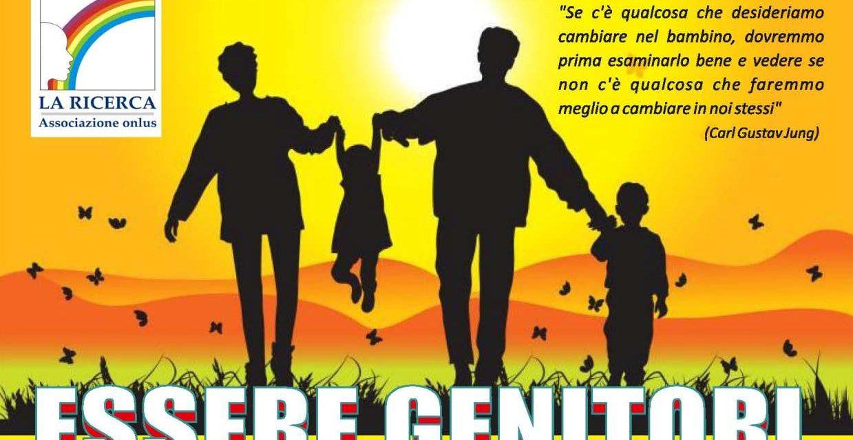 """""""Essere genitori"""": ciclo di incontri presso l'Associazione """"La Ricerca"""""""