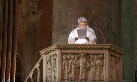 """Padre Enzo Bianchi – """"l' amore vince la morte: la risurrezione di Lazzaro"""""""