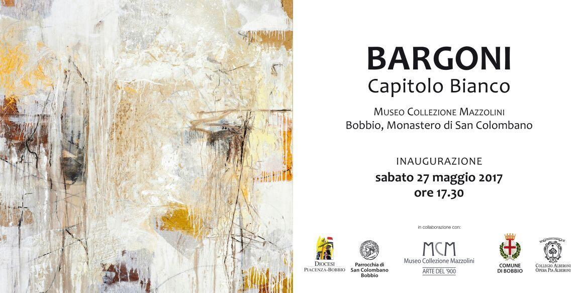 """""""Capitolo Bianco"""": esposizione di Giancarlo Bargoni"""