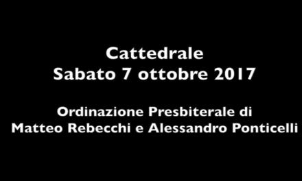 Ordinazione Presbiterale di Matteo Rebecchi e Alessandro Ponticelli