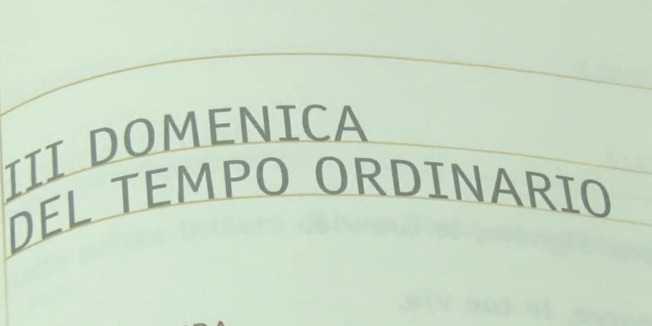 Papa Francesco: Domenica della Parola di Dio