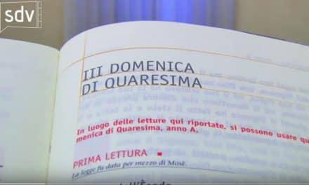 Vangelo di domenica 4 marzo 2018 – III di Quaresima