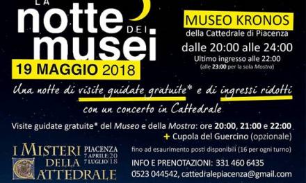 Sabato 19 maggio: la notte dei musei