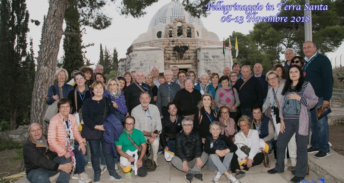 Pellegrinaggio con il Vescovo in Terra Santa