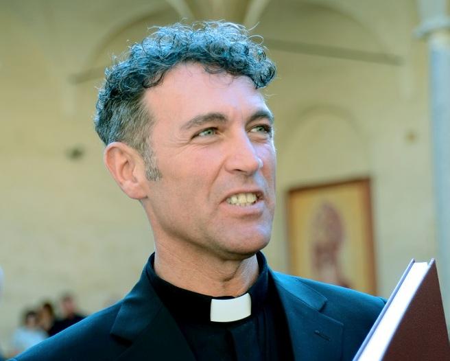 Don Federico Tagliaferri parroco di San Giuseppe Operaio