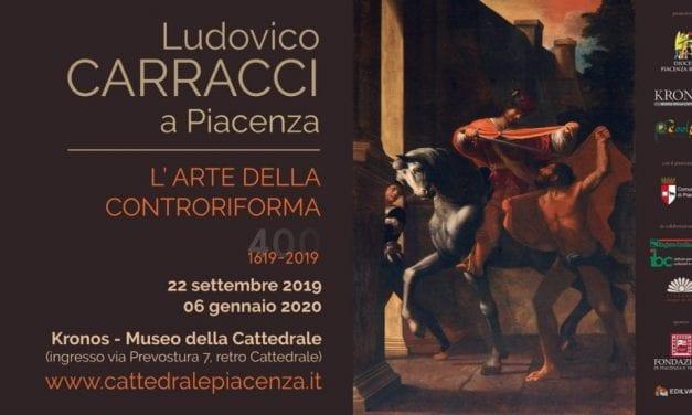 """""""L'arte della Controriforma"""": Ludovico Carracci in mostra a Piacenza"""