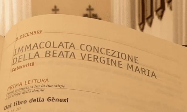 Vangelo di domenica 8 Dicembre 2019 – Immacolata Concezione della Beata Vergine Maria
