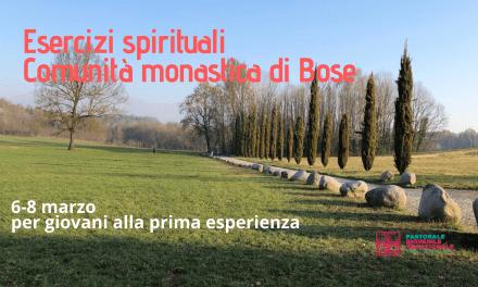 ESERCIZI SPIRITUALI DEI GIOVANI A BOSE