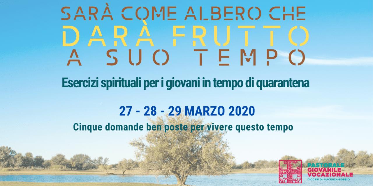 Esercizi spirituali dei giovani nel tempo di quarantena