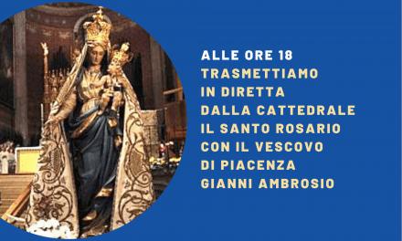 Il Rosario della Madonna del Popolo con il Vescovo in Cattedrale