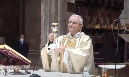 Domenica 24 maggio S. messa con il Vescovo in streaming
