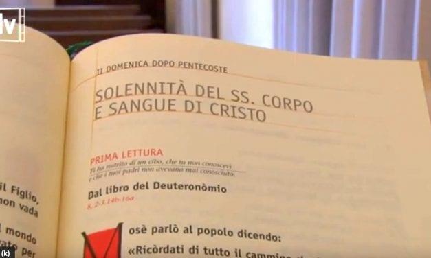 Vangelo di domenica 14 giugno 2020 – Corpus Domini