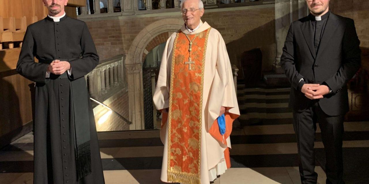 OMAR BONINI E GIUSEPPE PORCARI: due nuovi sacerdoti diocesani